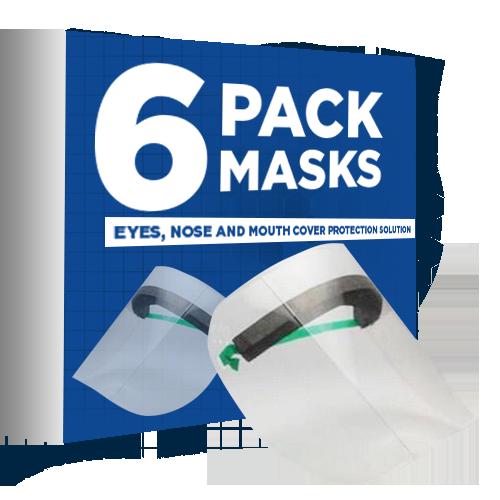 6 PACK MASKS